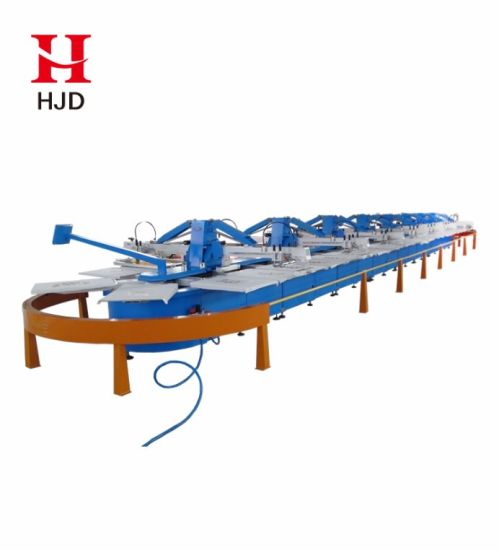 Hjd-A108 Full Automatic Oval Silk Screen Printing Machine From China pictures & photos