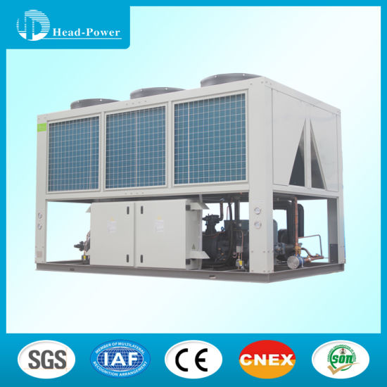 60tr 60ton 60HP Industrial Air Cooled Screw Water Chiller