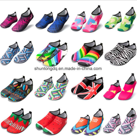 b542d8f534 Colorful Summer New Women Water Shoes Aqua Slippers for Beach Slip on  Waterpark Sandals Sandalias Slides