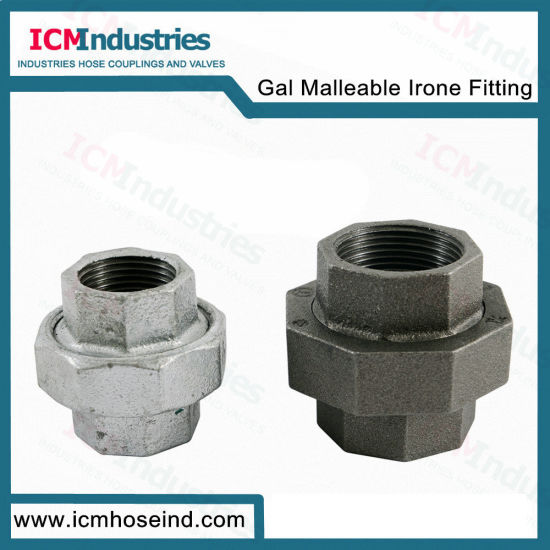 UNION 3 in galvanized malleable pipe plug-Made in USA Business & Industrial 1 Hydraulics, Pneumatics, Pumps & Plumbing