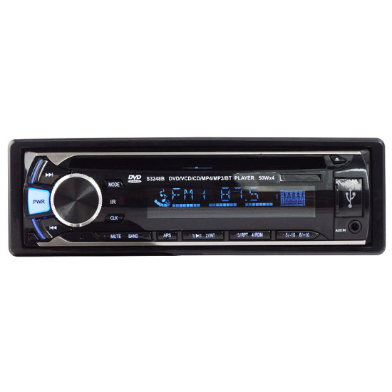 One DIN Detached Panel Car DVD Player Ts-6024D pictures & photos