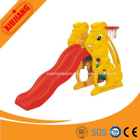 Indoor Playground Children Plastic Slide for Kindergarten Game Center