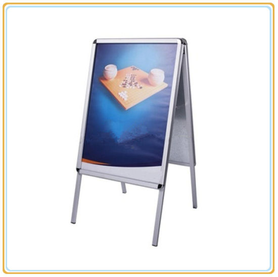 China a Frame Sign, Double Sided Pavement Poster Stands - China a ...