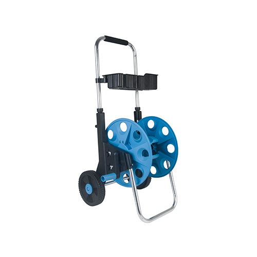 Garden Tool Trolley Set Plastic Hose Reel Cart