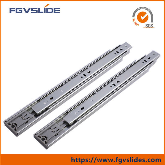 Closed 2 Pieces SO-TECH/® Full Pull Out Slides Drawer Rails Black 300 mm 1 Pair Ball Bearing Mounted Load Capacity 45 Kg