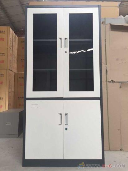 China Modern 2 Door Metal Storage Cabinet Swing Door Filing Cabinet