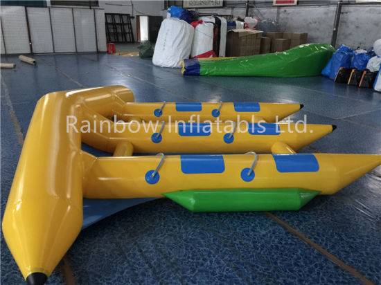 Portable Inflatable Fly Fish Water Toy/ Inflatable Banana Boat Tube Games pictures & photos