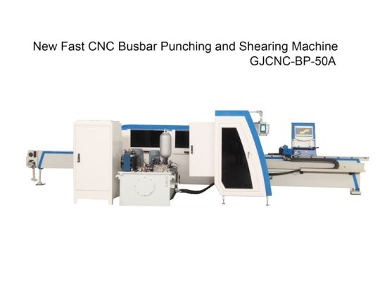 New Fast CNC Busbar Cutting Punching Machine