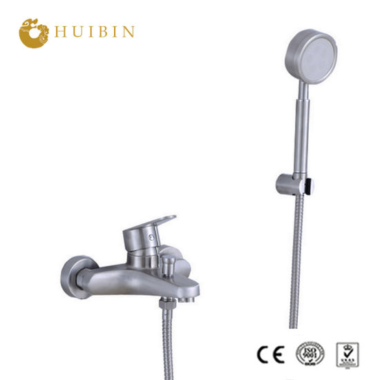 China Negative Ion Handheld Shower Head With Extra Long Hose And