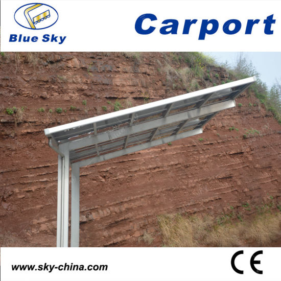 Hot Sale Durable Steel Caport with Polycarbonate Roof (B800) pictures & photos