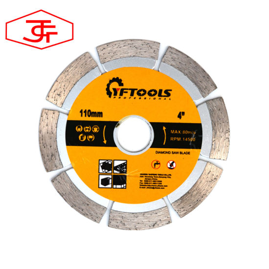 Hot Selling 115mm Segment Saw Blade for Cutting Marble