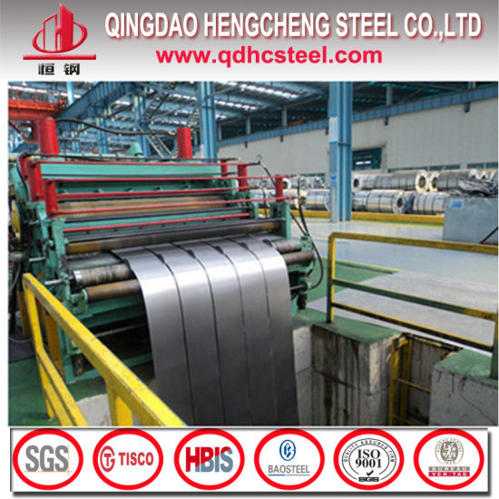Hot Dipped Narrow Zinc Coating Galvanized Steel Strip for Construction pictures & photos