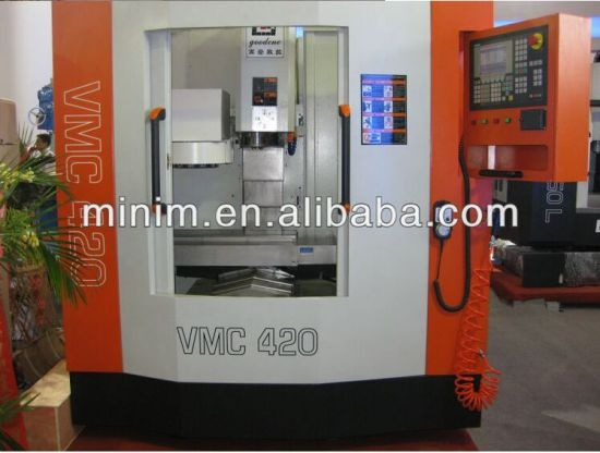 Vmc Machine Center Vertical CNC Milling Machine Vmc420L pictures & photos