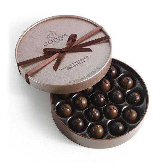 Custom Round Chocolate Cardboard Paper Gift Box