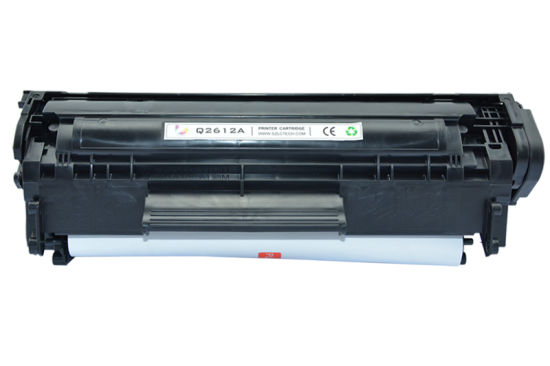 Original Q2612A Laser Toner Cartridge for HP Laserjet Printer pictures & photos