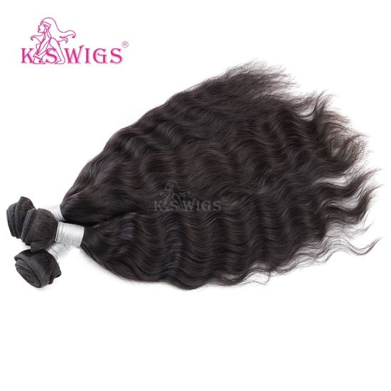 K. S Wigs Human Hair Weave, Remy Human Hair, Top Grade Virgin Brazilian Hair Weft pictures & photos