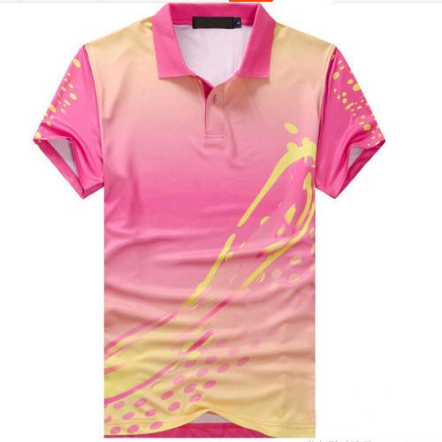 Custom Sublimation Company and School Uniform Polo Shirt