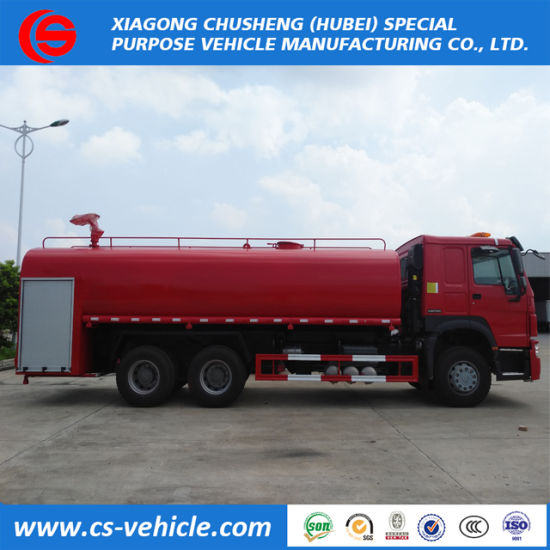 Two Axles Tri-Axles Water Spraying Dongfeng 4ton/5ton/8ton Water Tanker Truck