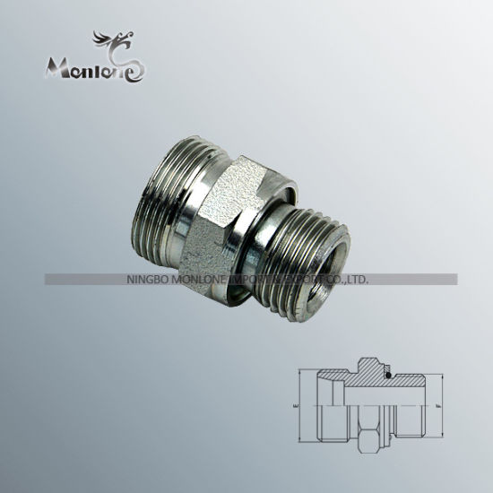 Ce Approved Bsp Thread Stud Ends Straight Tube Fitting (1CG) pictures & photos