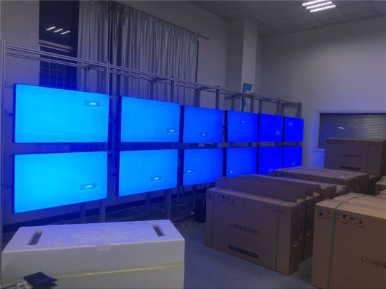 3X4 16: 9 touch screen TV frame video wall 49