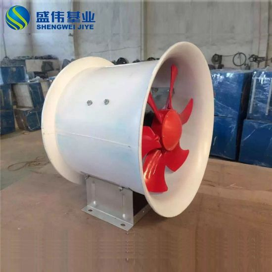 FRP GRP Industrial Explosion Proof Extractor Axial Fan