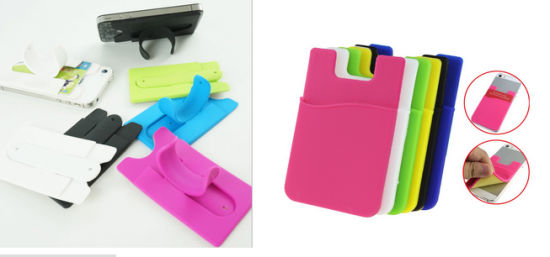 Silicone Mobile Phone Holder Touch-U Silicone Phone Stand pictures & photos