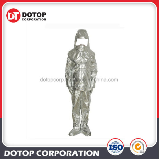 Full Protective Aluminized Fireproof Suit