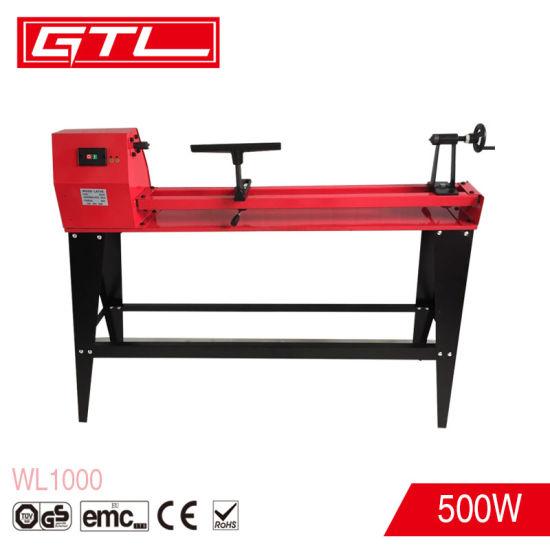 500W Powerturning Variable-Speed Wood Lathe