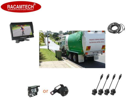 4 Sensor/Radar and a Camera Rear View Monitors Video Parking Sensors for Car/Municipal Fire Fighting