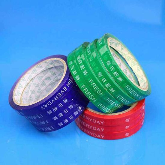 Supply Supermarket with Vegetable Strapping Tape, Can Be Customized