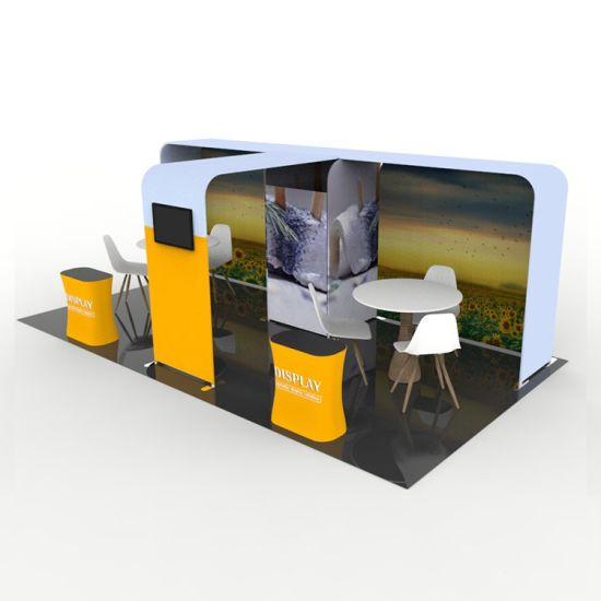 Fast Installation Non-Standard Aluminium Exhibition Material Trade Show Display