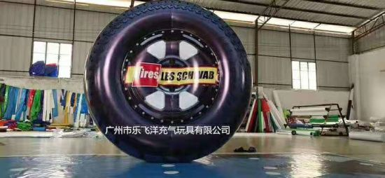 Inflatable Giant Tire with Ce Certificate pictures & photos