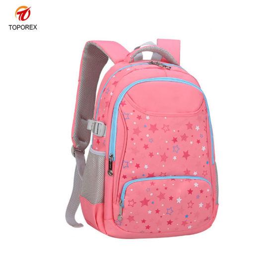 Wholesale Fashion School Nylon Bag Teens Shoulder Backpack