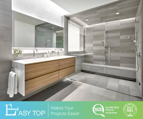 Double Vanity Marble Vanity Top French Modern Luxury Classic Bathroom Mirror Cabinet