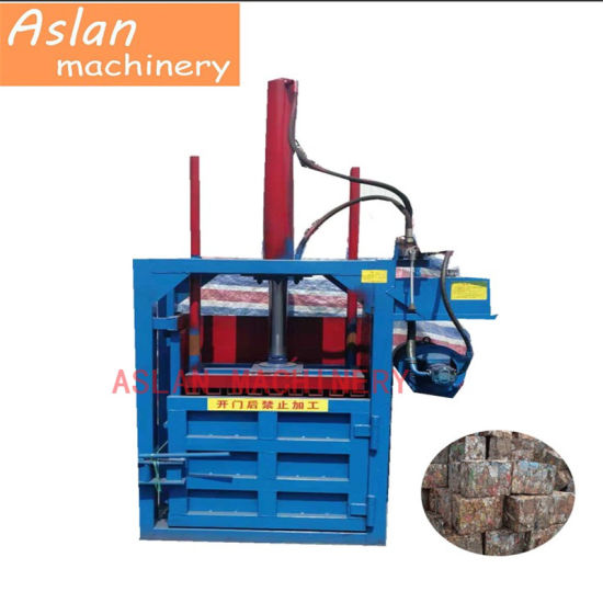 Hydraulic Horizontal Waste Plastic Manual Belting Baler