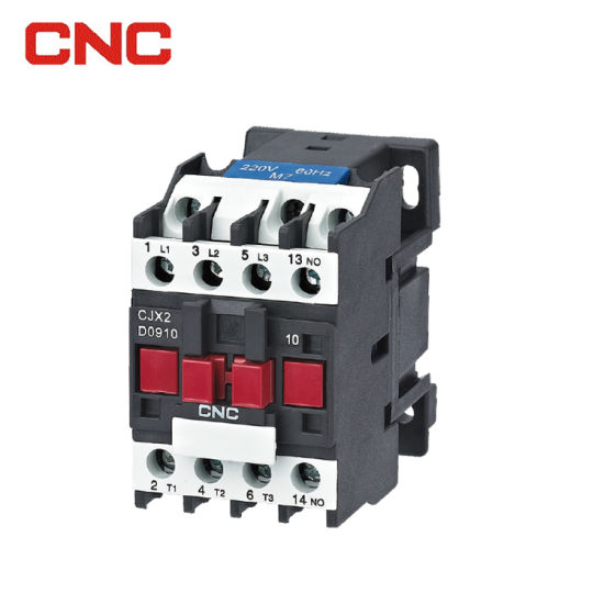 New Design Cjx2 3p/4p AC 220V Magnetic Contactor with Ce Certificate