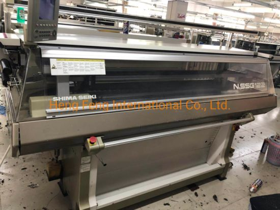 Nssg 122sv 7g 14G Shima Seiki Flat Knitting Machine Sweater Knitting in Good Condition Automatic Computerize Knitting Machine