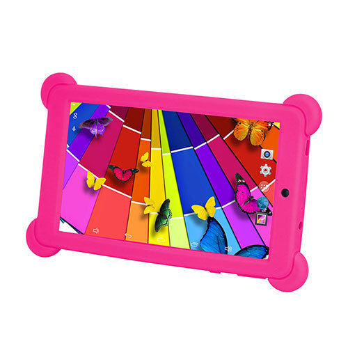 7 Inch HD Screen 1024*600 Android Quad Core 3G Tablets with Silicone Case