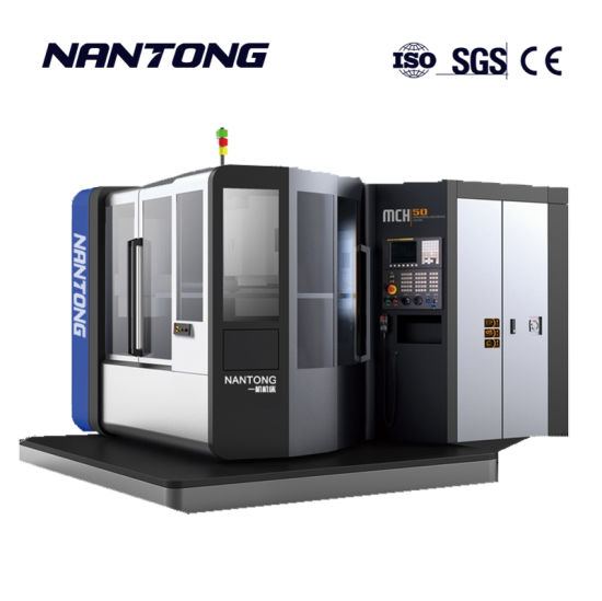 Power Feed CNC Horizontal Type Milling Machine Center Made in China
