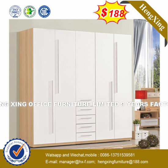 New Design Kerala Wood Manufacturer Clothes Wardrobe (HX-8NR0779) pictures & photos