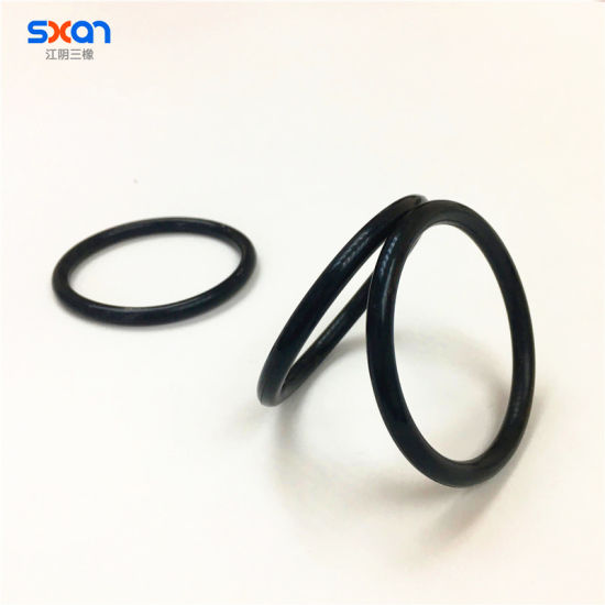 China Factory Price Non-Standard Customized Molded Black Rubber O ...