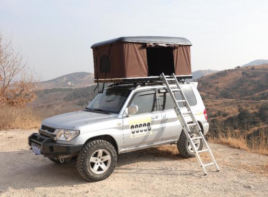 No Bacteria Car Roof Top Tent / Hard Car Roof Top Tent