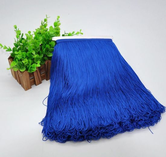 Wholesale 30cm High Quality Polyester Tassel Fringe for Latin Dress