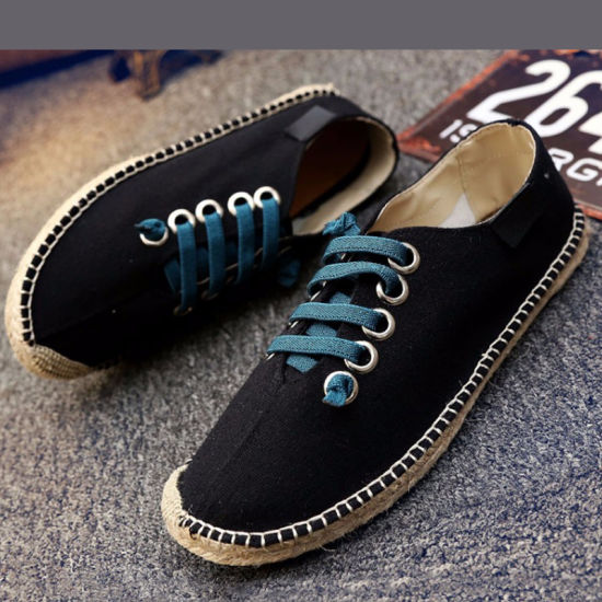 05b8fa6f6dc China Mens Womens Canvas Casual Shoes Comfortable Loafers - China ...