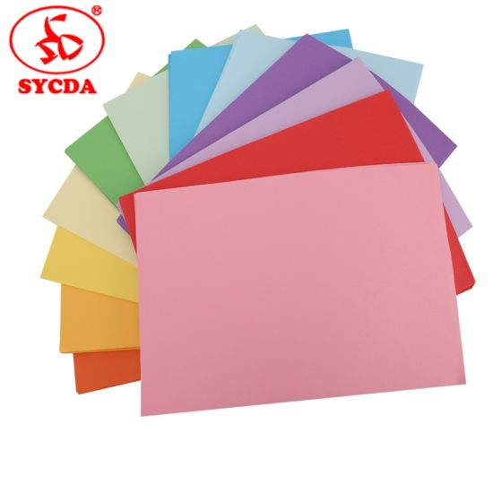 Bright Coloured Woodfree Paper pictures & photos