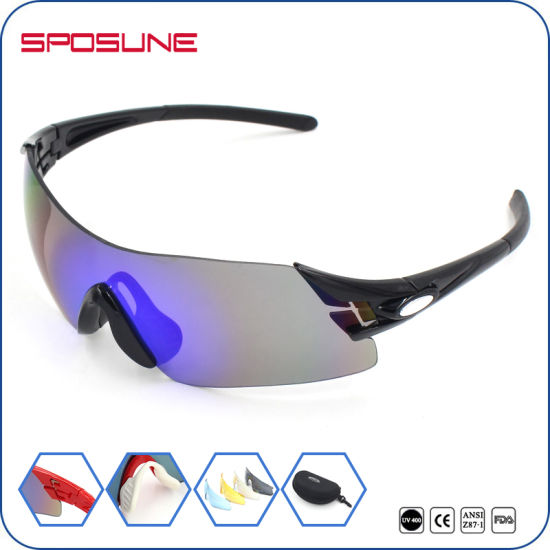 beb6f690b3e Fashion Anti-Scratch Ce En166 Cycling Sport Sunglasses UV400 Sports Goggles  for Bicycle pictures