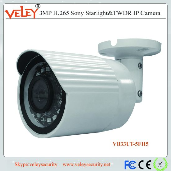 H. 265 3MP Security CCTV Network IP Bullet Camera Poe pictures & photos