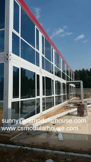 Low Cost Portacabin Office/Flat Back Modular Office/ Prefab Shipping  Container House