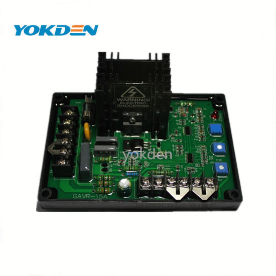 Brushless Generator AVR Gavr-15A Circuit Diagram