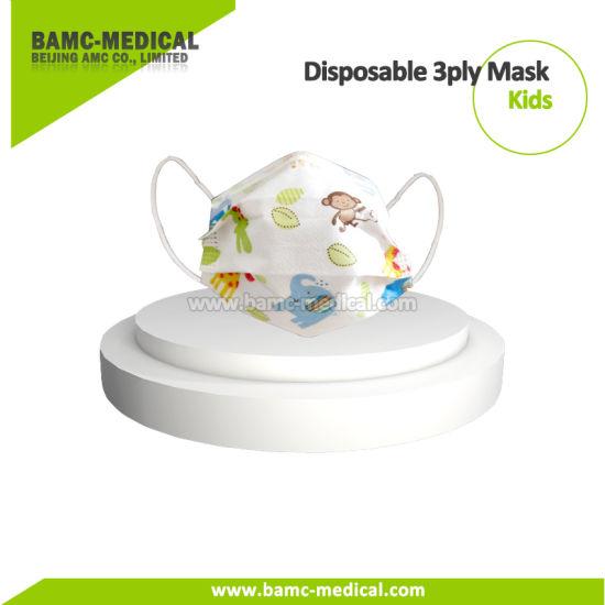 Disposable Protective Children Mask 3ply Civilian